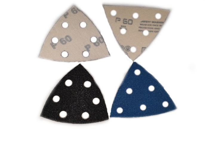 Triangle Festo 95 X 95 X 95 / velours - velcro